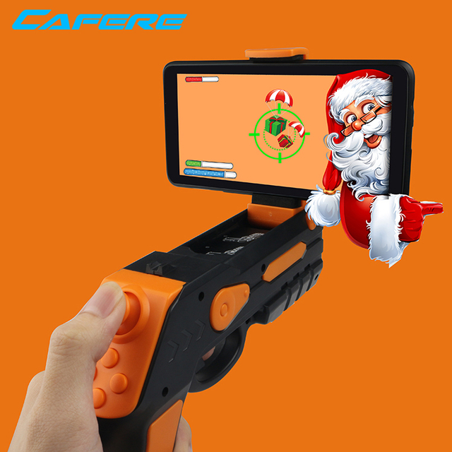 Top Ar Zombie 3D Shooting Augmented Reality Zombie Games Apps Realistic Looking Toy Cowboy Realistic Toy Guns For Kids