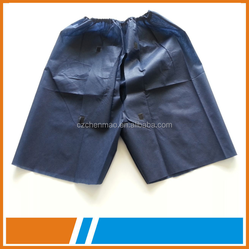 Disposable Medical Pants Examination Patient Pants For Endoscopy