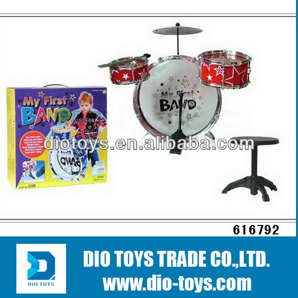 Fashion Band Music Drum Toy For Children