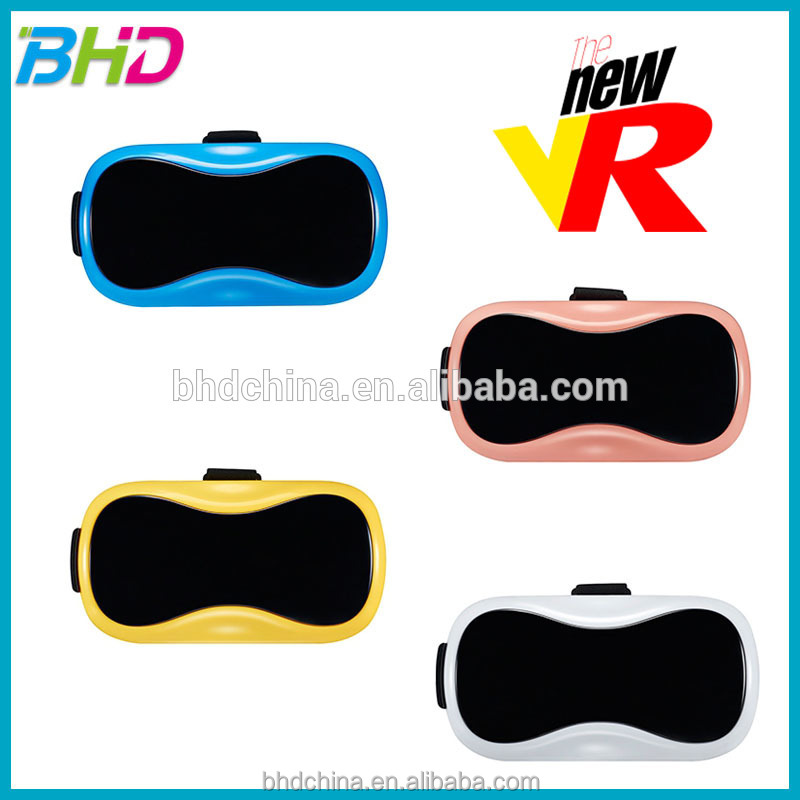 NEW VR Box 3D glasses for sale, vr box 2.0 Viedo3D Movie Game Virtual Reality Headset Glasses for smart phone