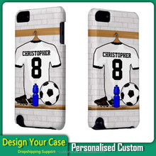 No MOQ !Custom PC Phone Case For iPod touch 5 Dropship Support
