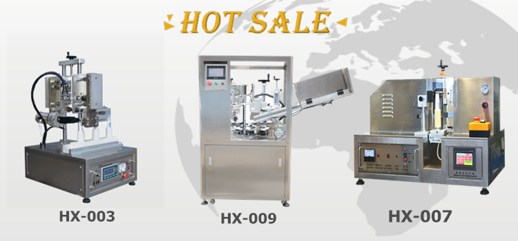 Tube Filler And Sealer/Tube Sealing Machine For Cosmetic