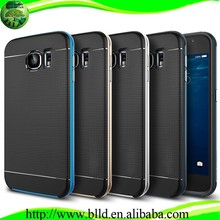 Hot selling Design PC + TPU Ultra Hybrid Case for Samsung S6