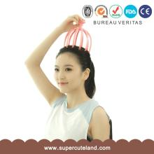 High Quality New Fashion Wholesale Stainless Steel Octopus Handy Head Scalp Neck <strong>Massager</strong>