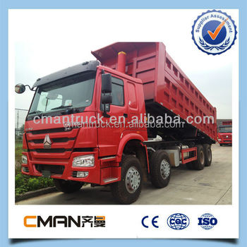 sinotruk new price 371hp 12 wheel 45 ton dump truck on offroad condition