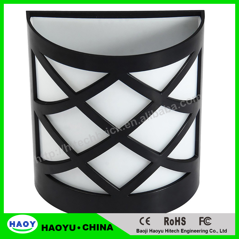 6LEDs LED Solar Garden Sensor Light Waterproof IP55 Led Solar Lamp Outdoor Light Path Roof Corridor Wall Lamp Spot Lighting
