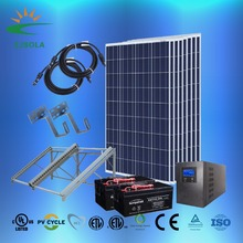 ZJSOLA 5000w High quality solar power 500kw solar system 60kw solar panel system solar energy system price