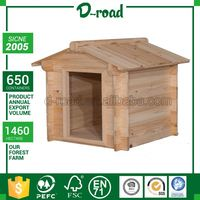 Custom Design Unfinished Wood Dog House