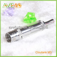 2014 unusual dry herb and wax cloutank m3 beneficial e cig high quality dry vaporizer