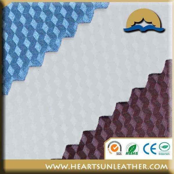 PU Thermo reactive leather fake leather
