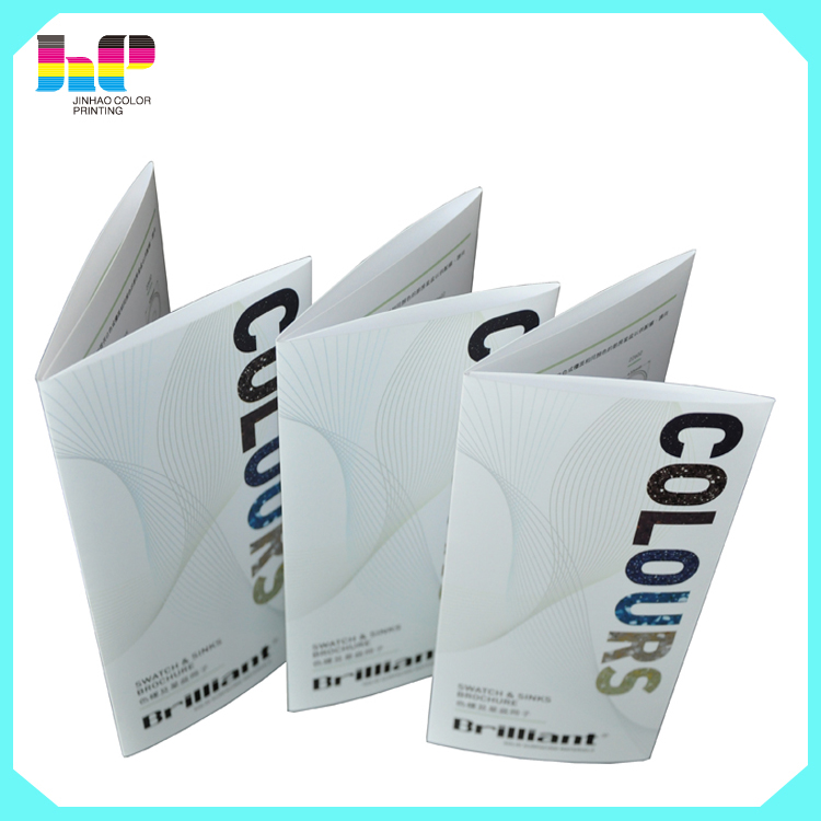 new design brochure/booklet/pamphlet printing with high quality