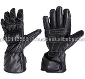 Mens Leather Motorcycle Racing Gloves