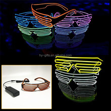 high quality colorful led sunglasses flashing custom led sunglasses for party