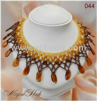 Best and fashion handmade necklaces of Baltic amber