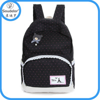 Colorful fashion cheap plain backpack
