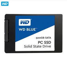 Western Digital (WD) Blue series 500G SSD laptop desktop SSD 500GB 12.7mm CD driver support and hard disk western data