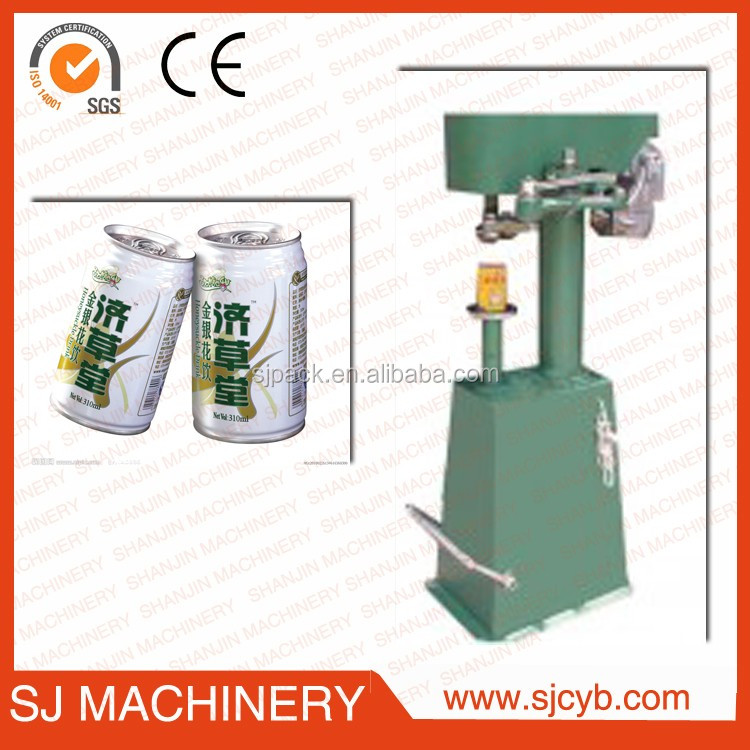 Food Beverage Tin Can Sealer Machine