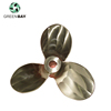 High quality Oem Rc Underwater RC boat bronze Propeller
