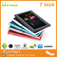 Special Offer! New design 7 inch Boxchip A13 1.5GHz android 4.0 tablet pc-Q8