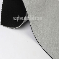 Grey And Black Color Neoprene Knit