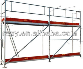 Ringlock scaffolding for constrution