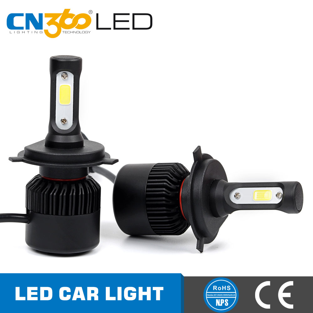 N2 super bright 8000lm 6000k Car Headlight Kit High Power Led H4 Auto