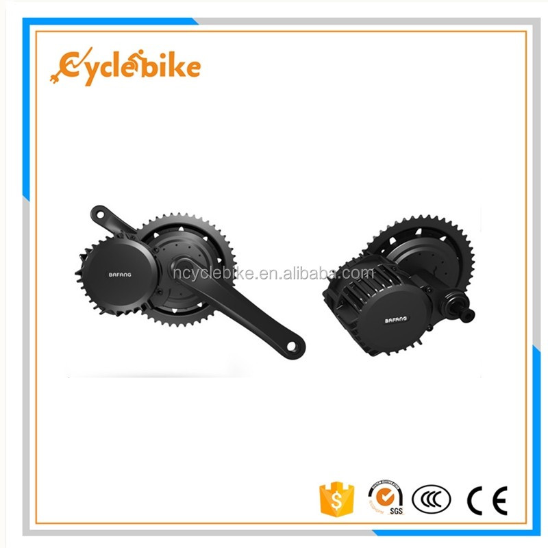 ebike 48v 750w mid/central drive electric bicycles conversion kit8fun brushless bike motor