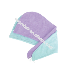 2017 Best Sellling Microfiber Hair Towels and Hair-drying Towel, Salon Cap, Head Band