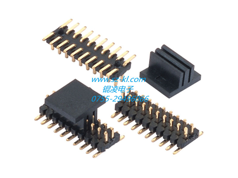 1.0mm pitch pin header connector