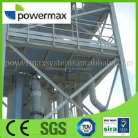 2MW modular biomass pellet twin-fire fixed-bed gasifier based power generation