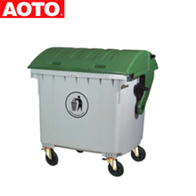 Cheap 1100L Recycle Bin Plastic Dustbin Plastic garbage dumpsters