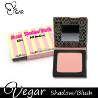 customized portable blush with mirror cute hot natural blush