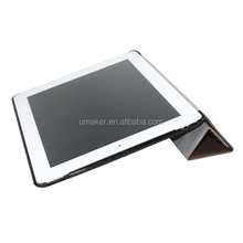 Smart Cover With Hard Back Leather Case For Ipad4