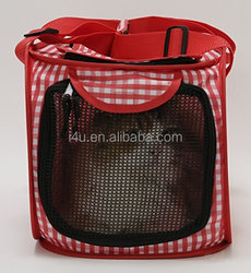 Foldable Ultra Light Cat Carrier with Safety Net/Trip to the Vets