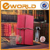 Pink cover Imitation leather Notepad