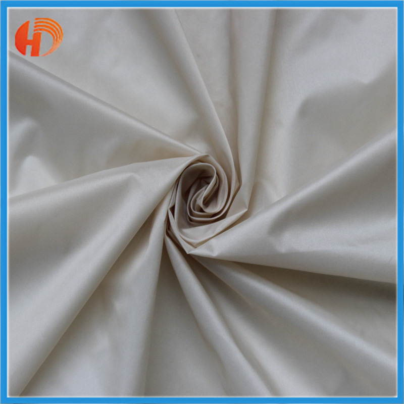 20d 400T nylon taffeta downproof waterproof fabric 100% nylon lining fabric