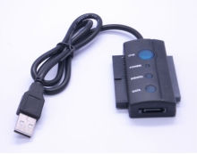 "2.5"" 3.5"" IDE + SATA Hard Disk Drive HDD DVD to USB 2.0 Adapter Cable OTB"