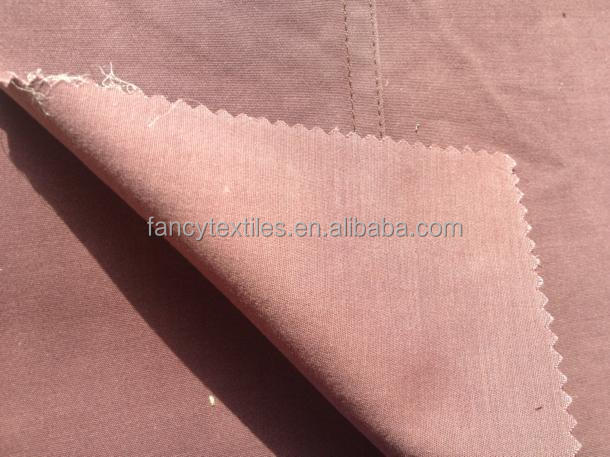 Tencel and cotton mixed stretched fabric for pants