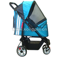 Collapsible pet stroller/pet trolley/pet travel strolley PS008