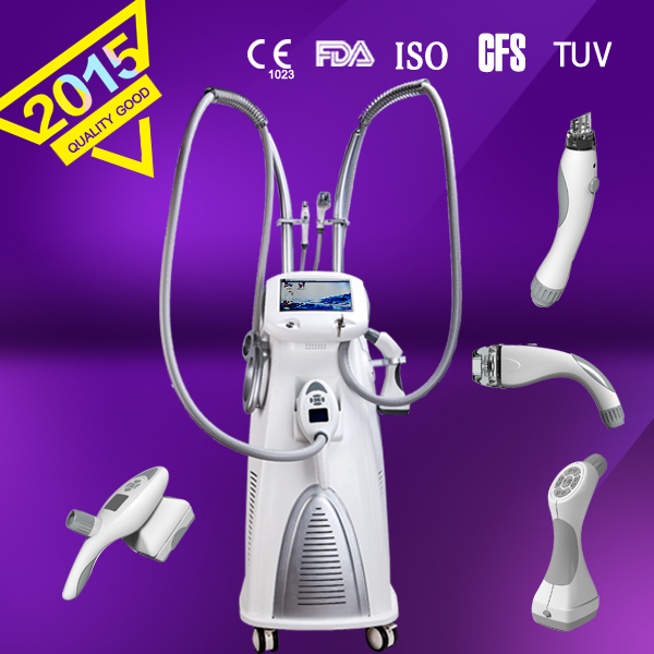 manufacturer Vacuum+ Mechanical roller + RF+LED+IP machine for body shaping, fat reduction machine