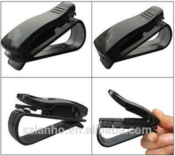 2016 universal Sunglass Eyeglass Visor Car Auto Plastic Clip Holder