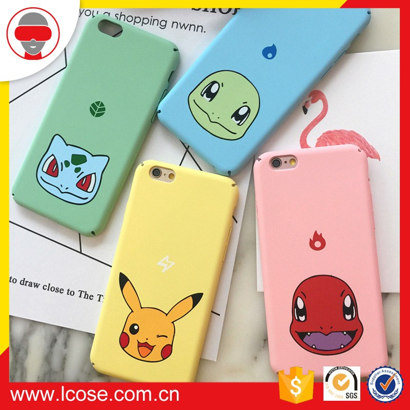 mobile phone accessories factory in China phone case pokemon go case for iphone 7
