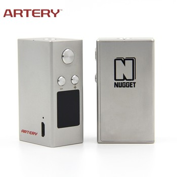 2017 newest e cig 50W TC mini Nugget box mod by Artery vapor wholesale