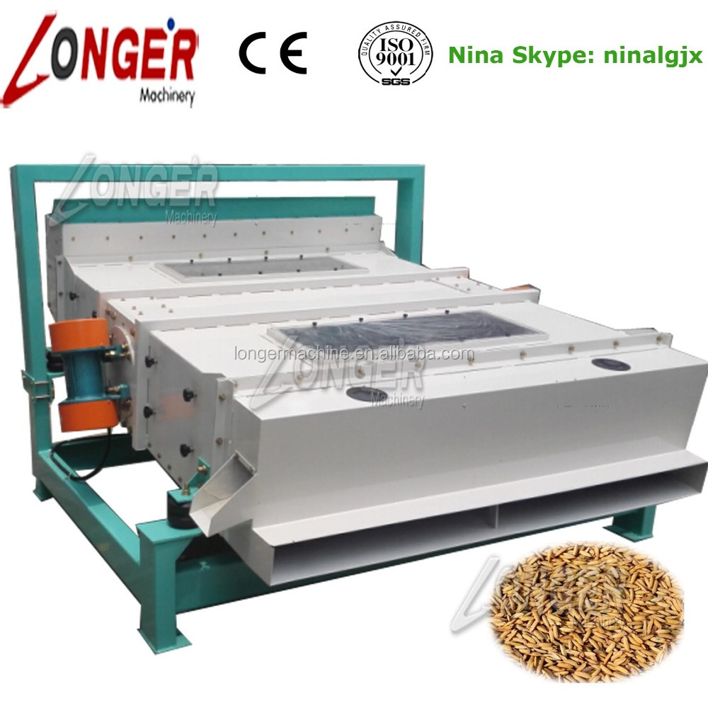 High Quality Paddy/Wheat/Beans/Seeds/Quinoa Vibratory Cleaning Screen/Equipment