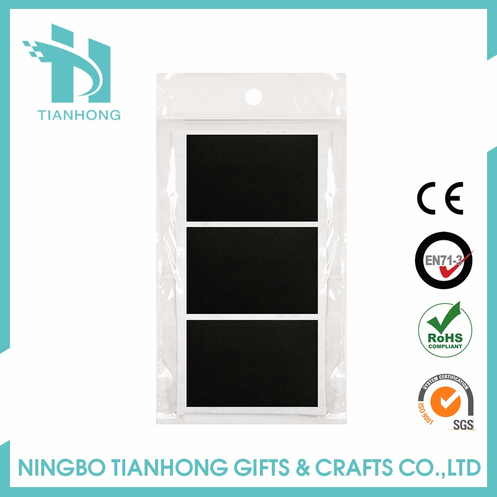 Safety Tips Glass Door Black Sticker