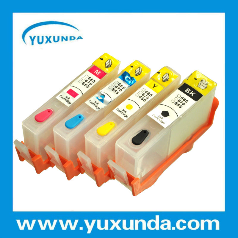 Refill cartridge with chip for HP685 from top supplier