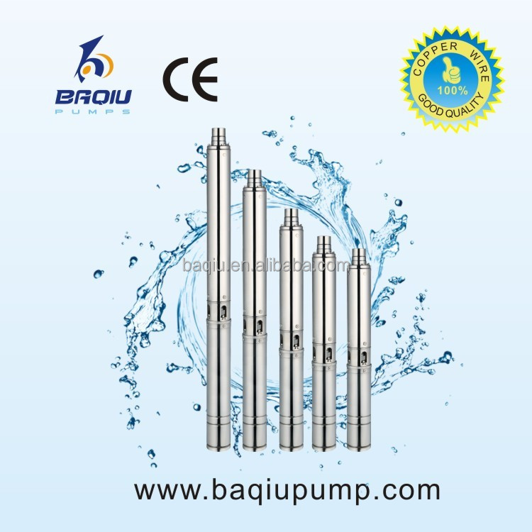 High Head Multistage Centrifugal Pump Stainless Steel Deep Well Submersible Water Pump