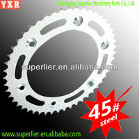 favourable price industrial GN 125 motorcycle wheels sprocket