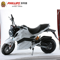 PHILLIPS 72V 2500W adult electric motorcycle scooter for sale