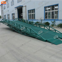 Mobile warehouse loading ramps